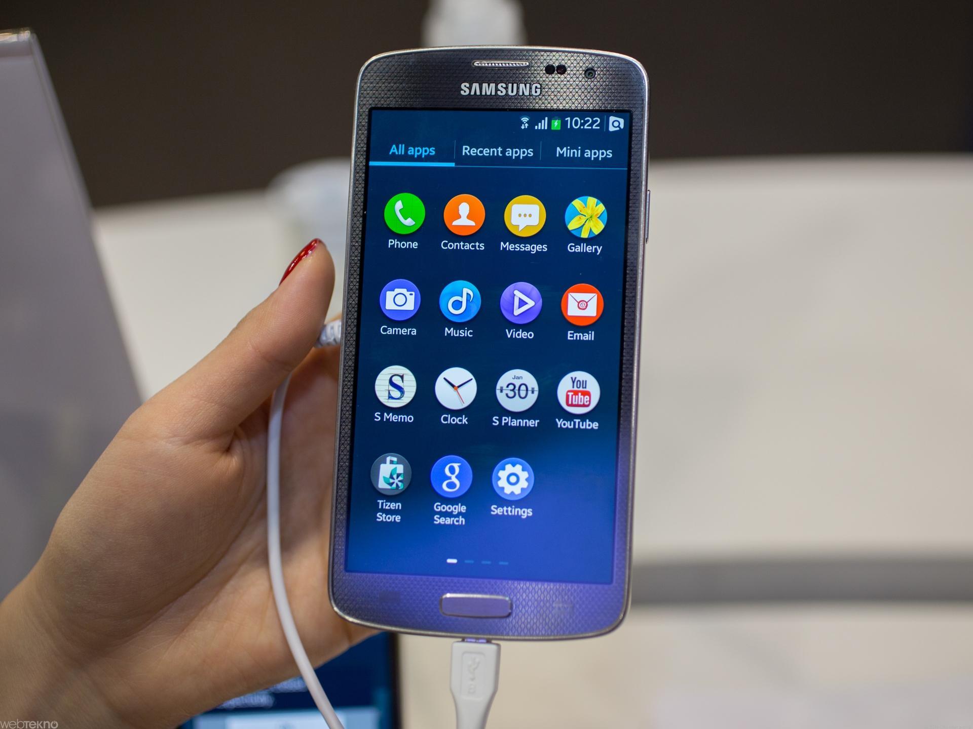 На рынках трех стран ожидается выход Tizen-смартфона от Samsung