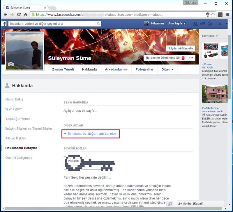 FacebookKizlikSoyadiEkle.3