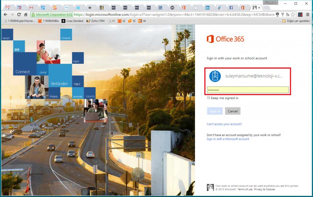 Office 365 Hizmet Durumu Kontrolü.1