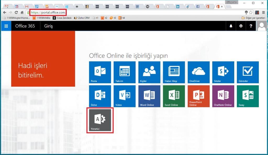 Office 365 Hizmet Durumu Kontrolü.2