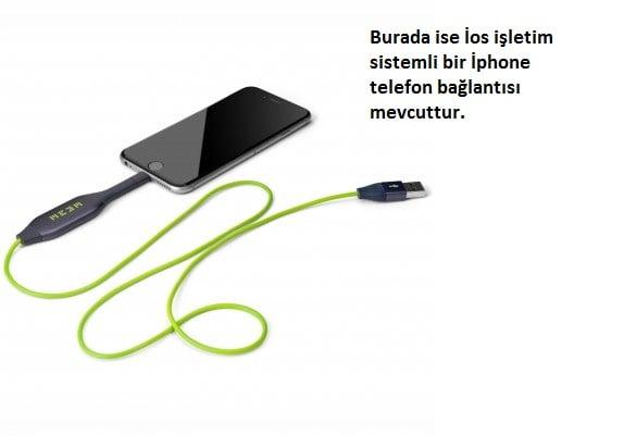 iphone bağlatı