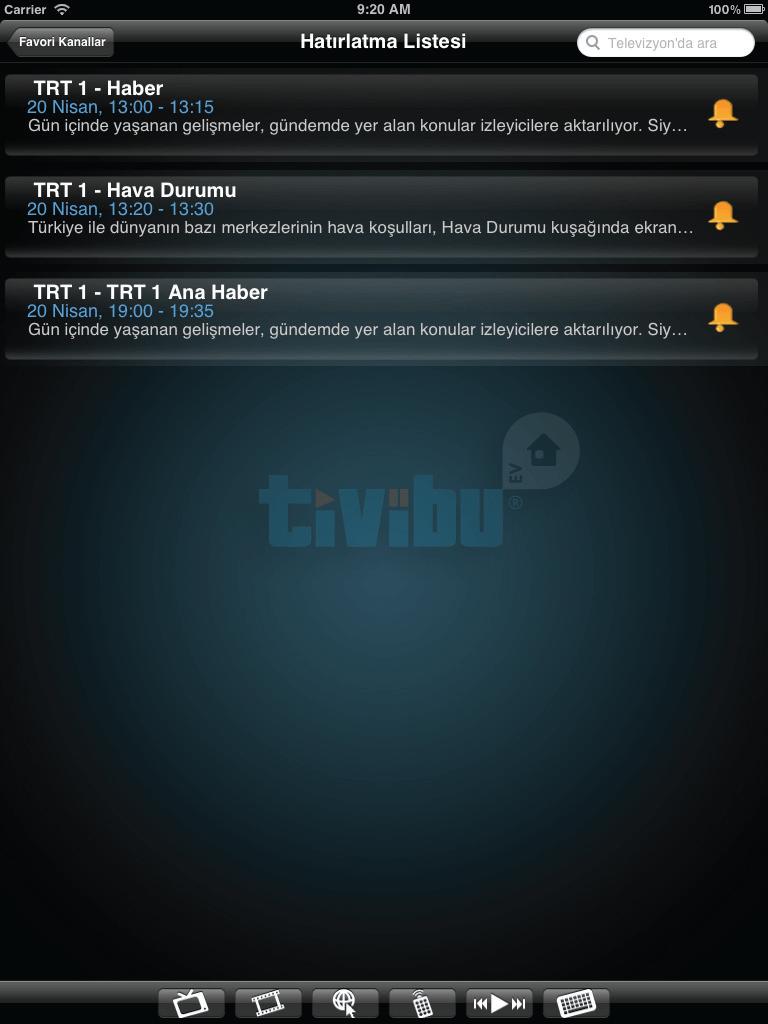 Tivibu Ev Tablet Uygulaması resim 5
