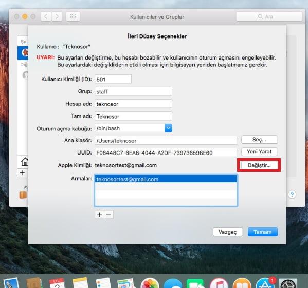 apple id değiştirme 5