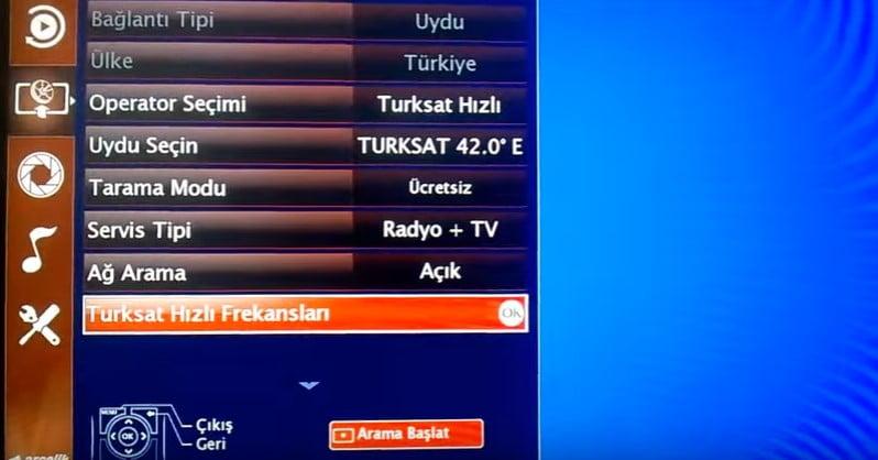 arcelik-tv-turksat-4a-uydu-kanal-ayarlari-6