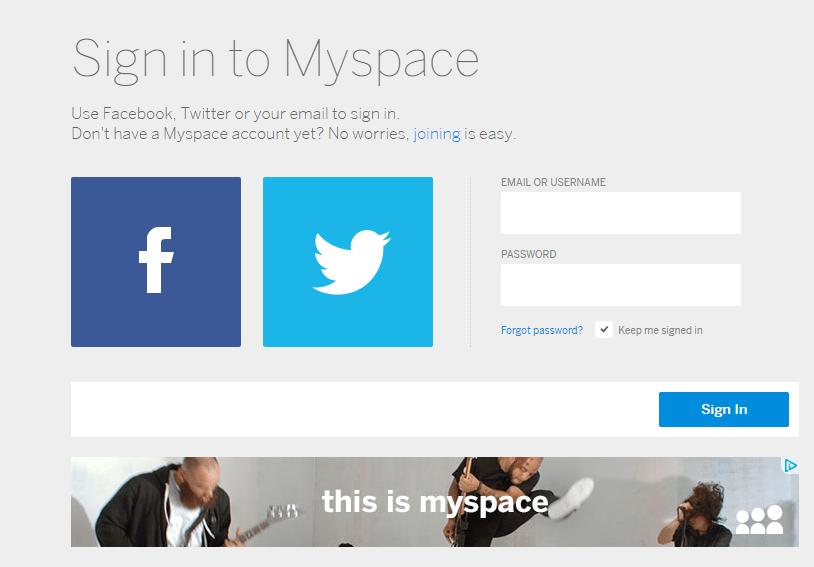 Myspace Hesap Silme (Resimli Anlatım)