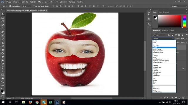 Photoshop CC Manipülasyon Kullanımı ile Meyveye Yüz Ekleme (Resimli Anlatım)
