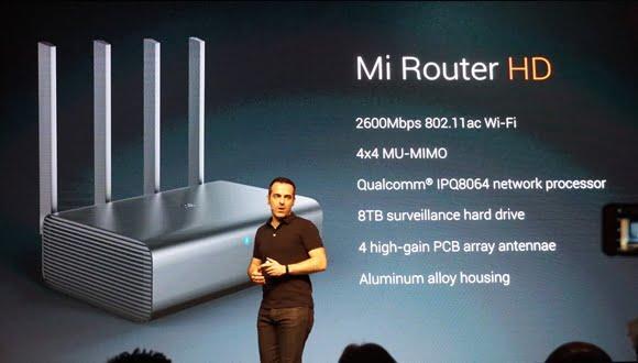Xiaomi'nin 8TB Kapasiteli Modemi 'Mi Router HD' Özellikleri ve Fiyatı