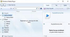"""""""Windows Media Player Bazı Dosyaları Yazamıyor"""" Hatası ve Çözümü (Resimli Anlatım)"""