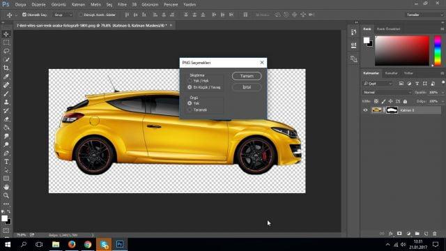 Photoshop CC PNG Olarak Kaydetme (Resimli Anlatım)