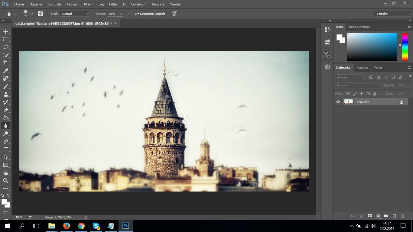 Photoshop CC Bulanıklaştırma Yöntemleri Nelerdir ve Nasıl Yapılır? (Resimli Anlatım) | TeknoDestek
