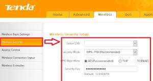 """• Security Key alanına bir Wi-Fi şifresi yazalım. En az 8 karakter olmak üzere Türkçe karakter kullanmadan herhangi bir şifre belirleyebilirsiniz. • Son olarak """"OK"""" butonuna tıklayarak kurulumu tamamlayalım. İşlem tamamlandı. Artık belirlediğiniz Wi-Fi adı (SSID) ve Wi-Fi şifresi ile kablosuz olarak internete bağlanabilirsiniz."""