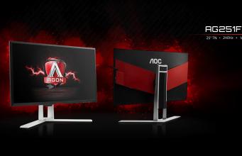 AOC'den 240 Hz'lik Oyuncu Monitörü: 'AOC AG251FZ' Özellikleri ve Fiyatı