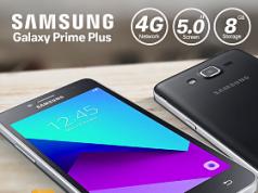 Samsung'un Giriş Seviyesi Akıllı Telefonu 'Galaxy Grand Prime Plus'