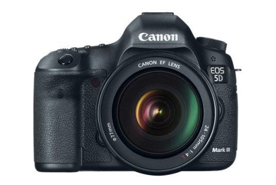 22.3MP Full-frame Sensörlü 'Canon 5 Mark III' Teknik Özellikleri ve Fiyatı