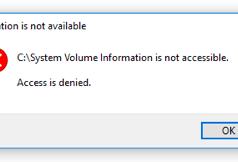 Windows'ta 'System Volume Information' Klasörü Nedir? (Resimli Anlatım)