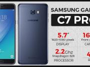 Samsung'un Yeni Akıllı Telefonu 'Samsung Galaxy C7 Pro'