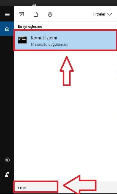 'DISKPART' ile Hard Disk veya USB Bellek Formatlama (Resimli Anlatım)