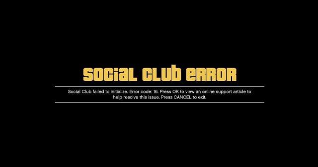 GTA V Social Club' Hatasına Kesin Çözüm (Resimli Anlatım)