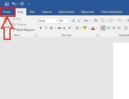 Word Belgesinin Bir Kısmını PDF'e Dönüştürme (Resimli Anlatım)