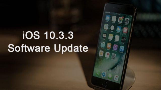 'iOS 10.3.3' Güncellemesiyle Birlikte Gelen Yenilikler