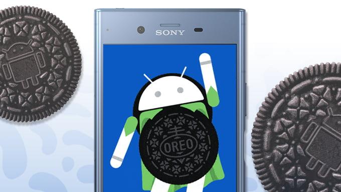 android oreo sony-1