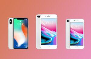 iPhone 8, iPhone 8 Plus ve iPhone X'in Türkiye Fiyatı Açıklandı!