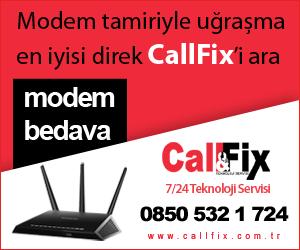 CallFix Bedava Modem Kampanyası