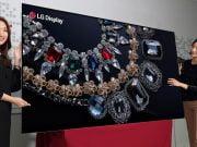 LG'den Dünyanın En Yüksek Çözünürlüğüne Sahip OLED Paneli!