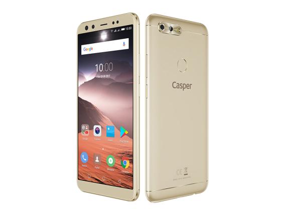 Casper'ın 4 Kameralı Akıllı Telefonu 'Casper VIA F2'!