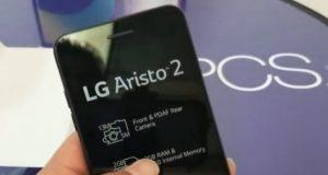 LG'nin Giriş Seviyesi Yeni Akıllı Telefonu 'LG Aristo 2'!