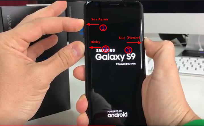 Samsung Galaxy S9 Sıfırlama ve Hard Reset (Resimli Anlatım)