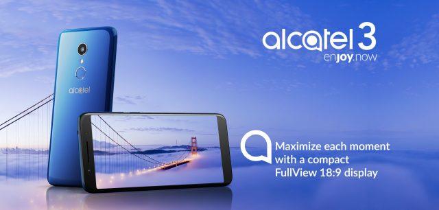 Alcatel'in Giriş Seviyesi Yeni Akıllı Telefonu 'Alcatel 3' Satışta!
