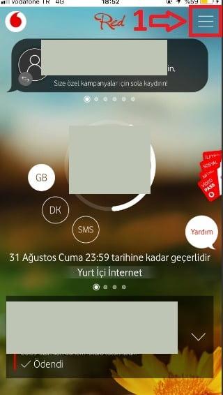 Vodafone Hatlarda Telekonferans ve 4.5G Ayarı Nasıl Aktifleştirilir?