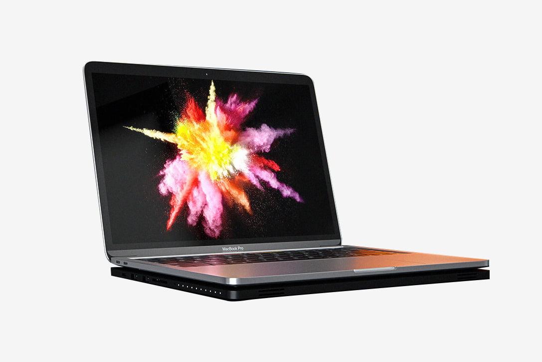 MacBook için Powerbank: Line Dock Battery Storage!