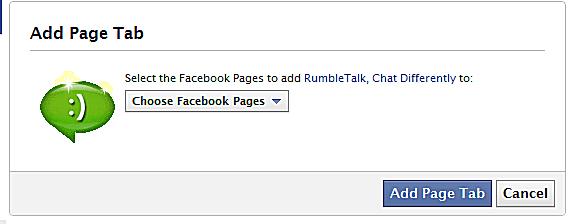 RumbleTalk ile Facebook Sayfalarınıza Sohbet Odaları Ekleyin!
