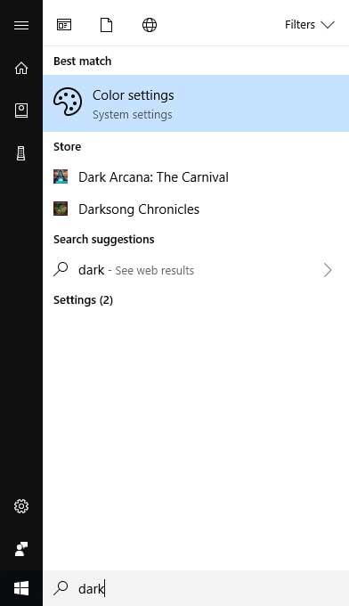 Windows 10'da Koyu Tema Modu (Dark Mode) Nasıl Etkinleştirilir?