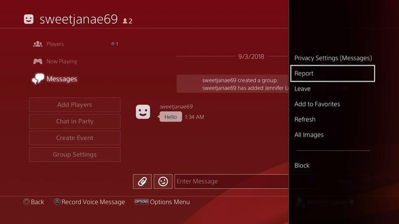 PlayStation 4'te Oyuncular Nasıl Engellenir ve Rapor (Şikayet) Edilir?