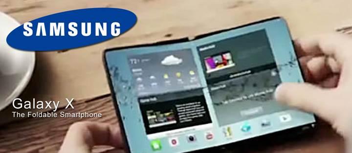 Samsung Galaxy X: Katlanabilir Telefon !