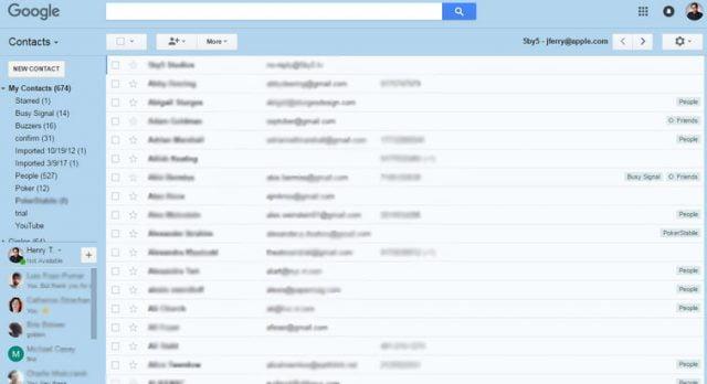 iPhone'daki Rehber (Kişiler) Gmail'e Nasıl Aktarılır?