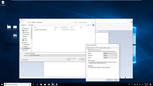 OneDrive, Windows 10'da Varsayılan Kaydetme Konumu Olarak Nasıl Ayarlanır?