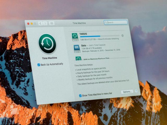 Time Machine ile Mac Bilgisayarın Yedeği Nasıl Alınır?