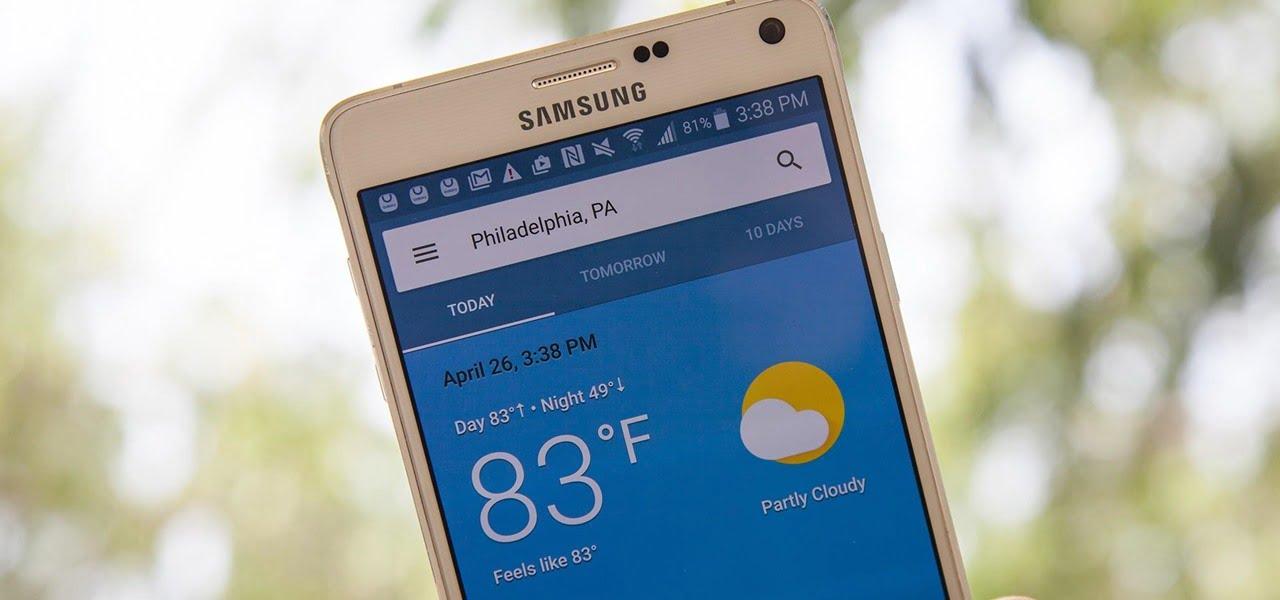 top quality uk cheap sale best selling Android'de, Google'ın Gizli Hava Durumu Uygulamasını Ana ...