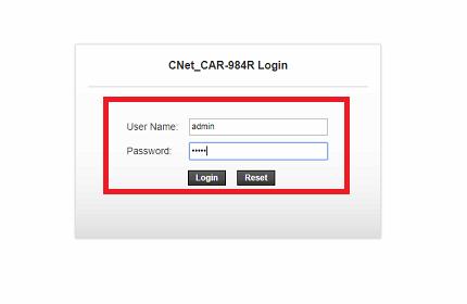 CNET CAR-984R Modem Kurulumu (Resimli Anlatım)