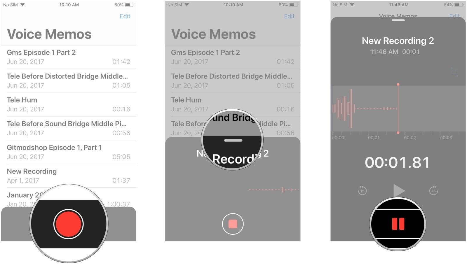 iPhone'da ve iPad'de Sesli Notlar (Voice Memos) Nasıl Kullanılır?